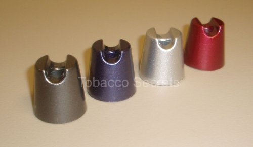 Cigarette Snuffers (Metal Cigarette Snuffers - Set of 4 (1 each Grey, Indigo, Silver, Red))