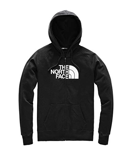 (The North Face Women's Half Dome Full-Zip Hoodie TNF Black/TNF White 1 X-Large)