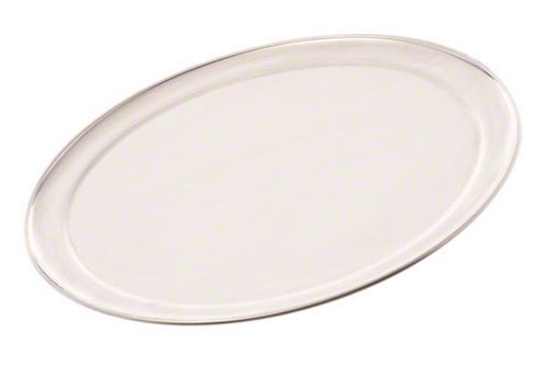 American Metalcraft TP12 TP Series 18-Guage Aluminum Standard Weight Wide Rim Pizza Pan, 12-Inch
