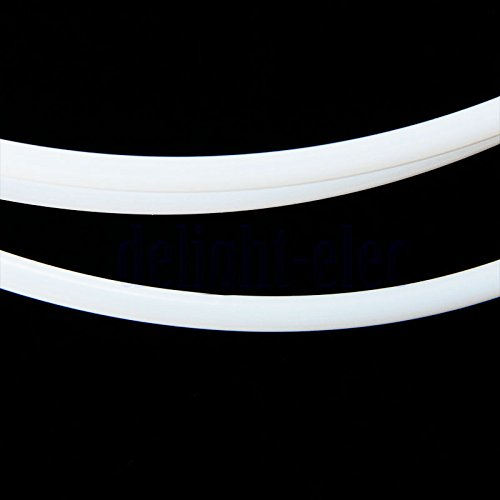 Tiptiper 3D Drucker Teil 1M PTFE OD 4 MM Rohrleitung f/ür 3 MM Verbrauchsmaterialien Teflon Rohr ID 3 MM
