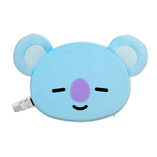 BT21 Official Merchandise by Line Friends - KOYA Character Face Sitting Cushion Seat Floor Couch Pillow, Blue [並行輸入品] B07RBCQV1F