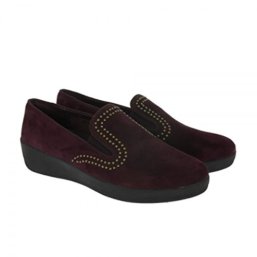 Studs Femme with FitFlop Plum Escarpins Superskate Deep Bout Fermé YpwFFEqx