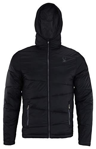 Spyder Men's Nexus Insulated Puffer Jacket (Black, Medium)
