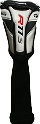 Taylor Made R11S Fairway Wood Headcover Wht/Blk/Red Golf Club Cover NEW from Taylor Made