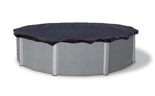 Blue Wave Bronze 8-Year 18-ft Round Above Ground Pool Winter ()