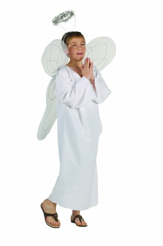RG Costumes Angel Boy Costume with Halo, Standard/Child Small (Angel Costume Boys)