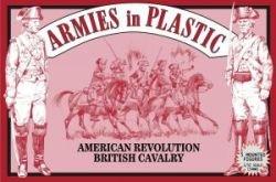 5 Mounted 1//32 Armies in Plastic American Revolution British Cavalry