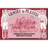American Revolution British Cavalry (5 Mounted) 1/32 Armies in Plastic