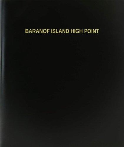 (BookFactory Baranof Island High Point Log Book / Journal / Logbook - 120 Page, 8.5