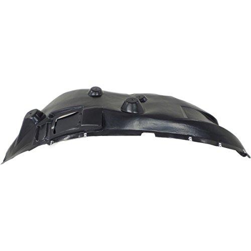 NorthAutoParts 68148311AC FITS RAM-2500 3500 LH SIDE FRONT INNER FENDER SPLASH SHIELD LINER CH1248164 (Ram 2500 Front Splash Shield)