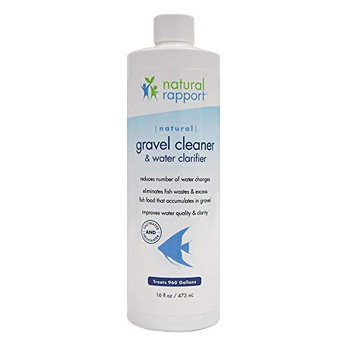 - Professional Aquarium Gravel Cleaner - The Professionals Secret to Naturally Maintaining a Healthier Tank, Reducing Fish Waste and Toxins, 16 Ounces Treats 960 gallons