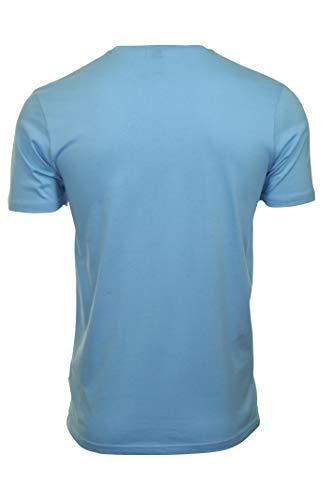 T Light Blue Ellesse Bianca shirt Riveria Uomo Uw7nZq5z