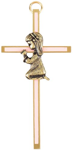 Praying Girl Wall Cross (Girl Wall Praying Cross)