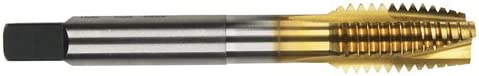 H3 Pitch Dia 20 ShearTap Spiral Point Tap HSS 1//4 TiN Finish Spiral Point 0.6300 in Thread Length 3 Flutes Limit Morse Cutting Tools 94417