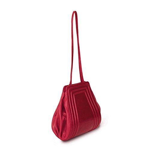 Gretchen Borsa A Spalla Donna Rosso Strawberry Red