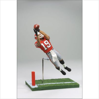 - McFarlane Toys NCAA COLLEGE Football Sports Picks Series 1 Action Figure Hines Ward (Georgia Bulldogs) Orange Jersey