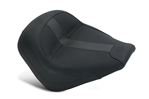 - Mustang Motorcycle Seats Vintage Solo, Black Vinyl - Indian Scout