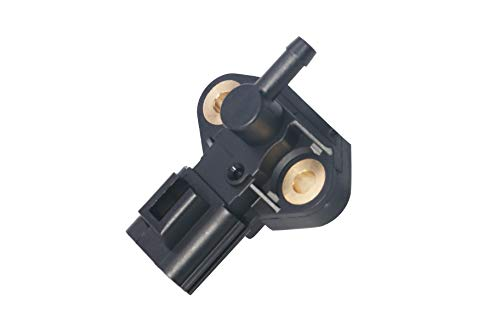 Fuel Rail Injection Pressure Sensor - Replaces CM5229, 3F2Z9-G756-AC, 0261230093, 3F2Z9G756AC - Fits Ford Crown Victoria, F250 Super Duty, F350, Focus, Five Hundred, Explorer, Mustang, E-150 and more ()