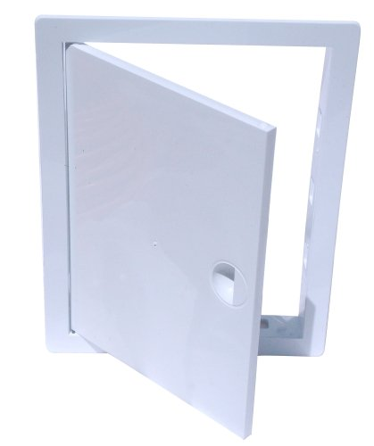 HARDI Ré vision Rabat Trappe de ré vision Ré vision Plastique Blanc (10 cm x 10 cm) Kolor