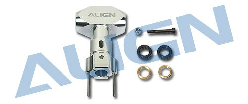 Align/T-Rex Helicopters 600/600N Metal Main Rotor Housing, Silver