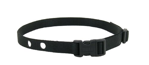 Dog Fence Receiver Heavy Duty Replacement Strap Black by TUFF Collar