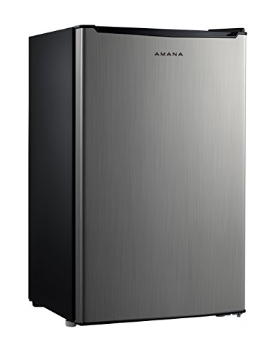 Amana AMAR35S1E 3.5 cu. Ft. One Door Compact Refrigerator, Stainless Steel