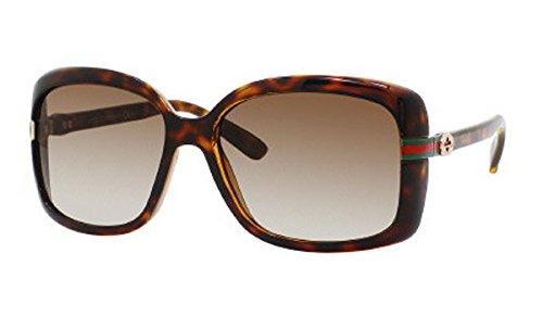 Bronze Gucci Sunglasses (Gucci Sunglasses - 3188 / Frame: Havana Lens: Bronze Polarized-GG3188S0791SP)