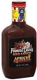 Famous Dave's Apricot Bourbon BBQ Sauce