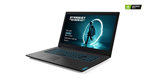 2019 Newest Lenovo IdeaPad L340 Gaming PC Laptop, 17.3-Inch FHD IPS Anti-Glare Display, Intel i7-9750H 6-Core CPU (up to 4.5GHz), 8GB RAM, 256GB PCIe NVMe SSD+1TB HDD, NVIDIA GeForce GTX 1050, Win 10