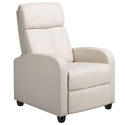 YAHEETECH Recliner Chair PU