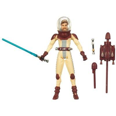 Hasbro Star Wars Clone Wars Animated Action Figure Obi-Wan Kenobi In Space Suit
