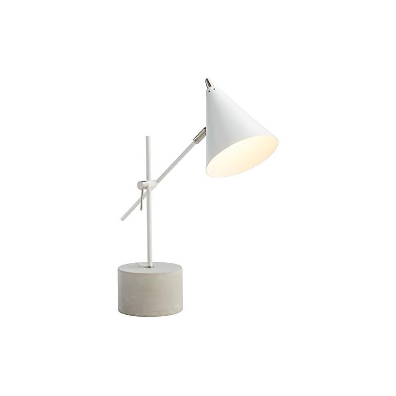 """Rivet Mid-Century Modern Task Lamp, 21""""H"""