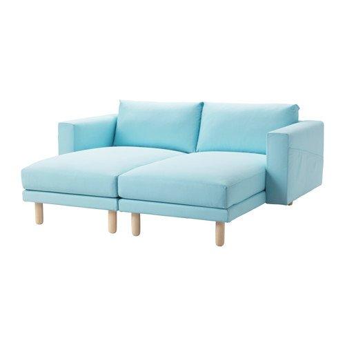 IKEA seccional, 2 plazas, edum luz azul, Brich 16204.81714 ...