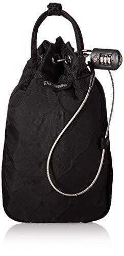 Pacsafe Travelsafe GII 3 Liter Portable Safe (Black) (Rail Chairs)