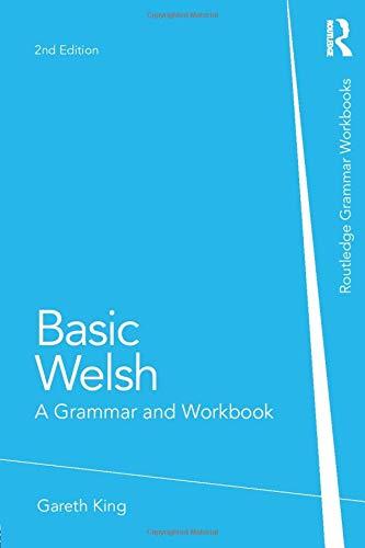 Basic Welsh  A Grammar And Workbook  Grammar Workbooks