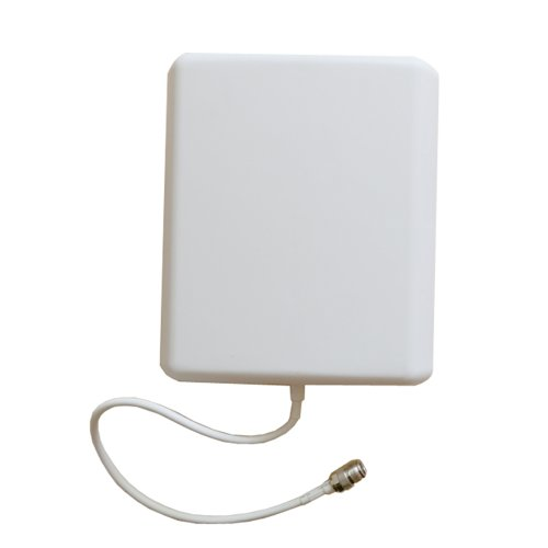 Phonetone GSM 2G 3G 4G WCDMA AWS 850MHz~2100Mhz directional N-female connector Indoor Panel Antenna for Mobile cell phone Signal booster repeater