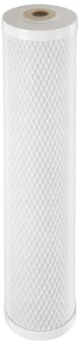 Pentek CBC-20BB Carbon Block Filter Cartridge, 20'' x 4-5/8'', 0.5 Micron by Pentek