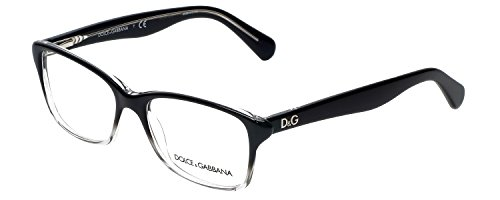 D&g Eyeglasses 2602 Black Gradient Gray Demo Lens 52 16 - Gabbana Eyeglasses Women And Dolce