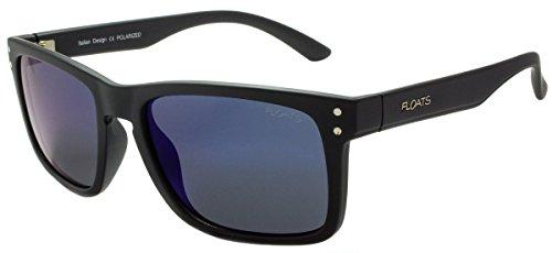 Floats Polarized F-4267 Sunglasses Polarized Plastic matte square frame Size 55 18 - Sunglasses Floats