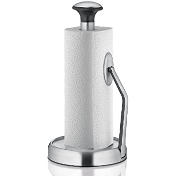 Amazoncom The Sharper Image Suction Base Paper Towel Holder