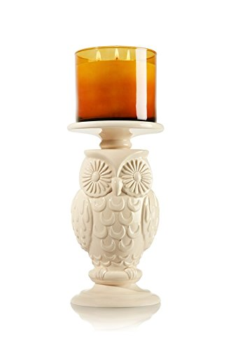 Bath and Body Works Owl Pedestal Open Candle Holder for 14.5 Ounce or Smaller
