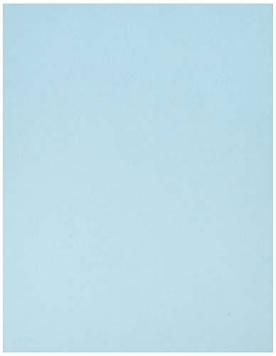 Springhill, Digital Vellum Bristol Cover Blue, 67lb, Letter, 8.5 x 11, 250 Sheets / 1 Ream,(026000R) Made In The USA