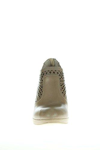 Nero Giardini Mujer Tacones altos con plateau P615000D-406de cuello perforado con plateau T.90 Tortora