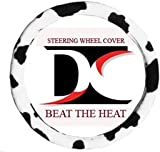 Black and white cow steering wheel cover - Best Reviews Guide