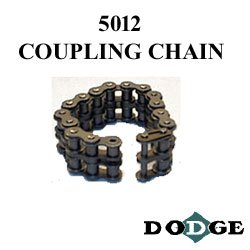 Dodge (Baldor) 5012 CPLG CHAIN - Coupling Chain - Size 50 Chain, 12 Links, Steel Material by Dodge (Baldor)
