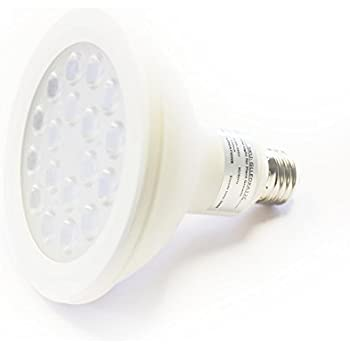 iPower 12 Watt Multi-Spectrum LED Grow Light Bulb for Plant Growth and Flowering with 6 Red and 12 White LEDs