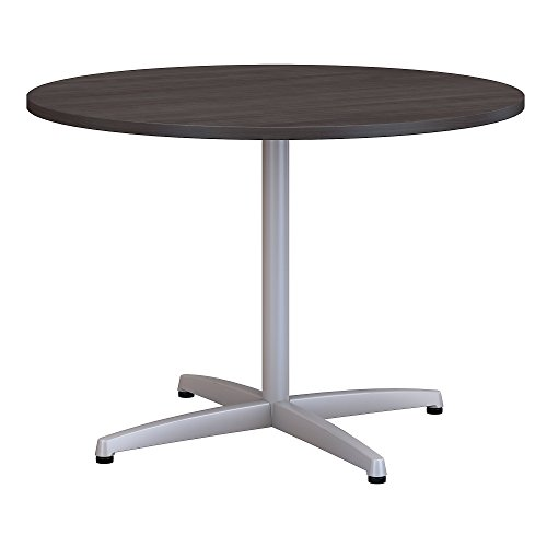 Cheap  Bush Business Furniture 42W Round Conference Table with Metal X Base in..