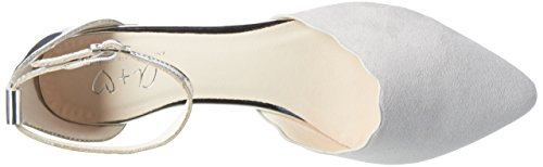 Another Pair of Shoes Blaire1, Bailarinas para Mujer Gris (Light Grey/silver1882)