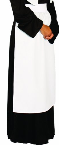 Alexanders Costumes Puritan Apron, White, One Size