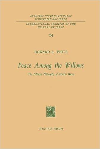 Peace Among The Willows: The Political Philosophy Of Francis Bacon: Volume 24 Epub Descargar